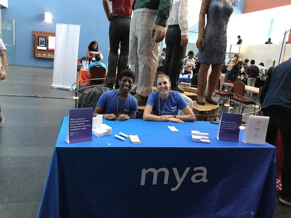 Mya team at PyBay 2018